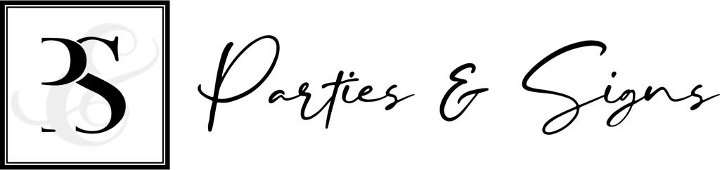 Parties And Signs